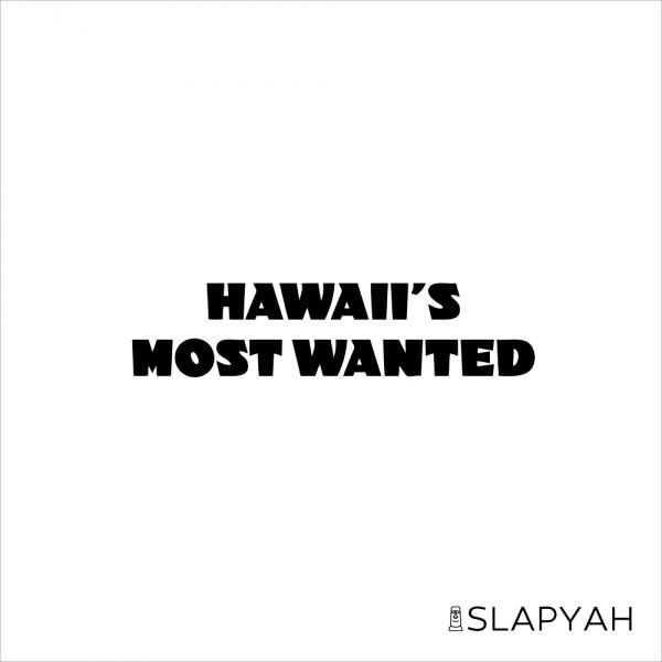 HawaiisMostWantedステッカー