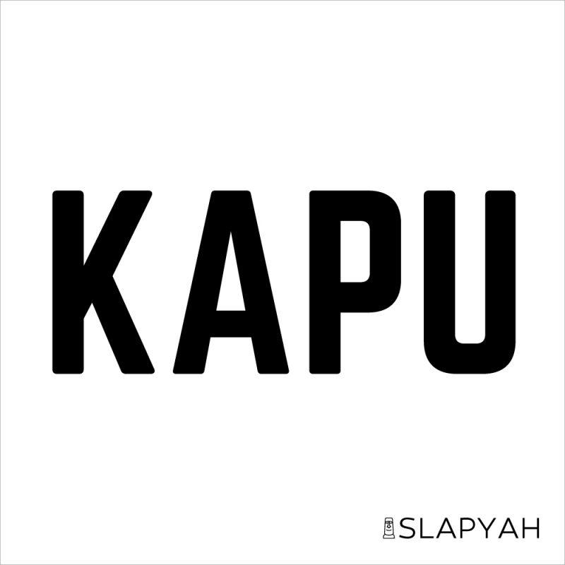 KAPUカプステッカーハワイ