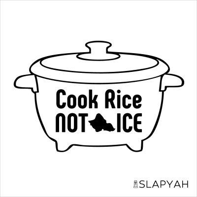 CookRiceNotIceSticker