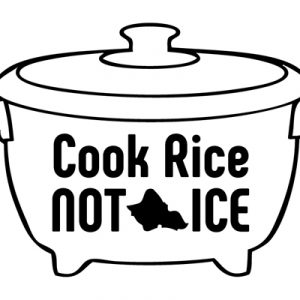 CookRiceNotIceステッカー