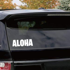 ハワイを感じるハワイアンステッカーの通販